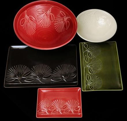 Pohutukawa Platters and Bowls