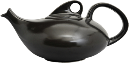 6 Cup teapot black