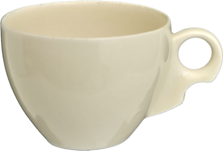 Round tea cup